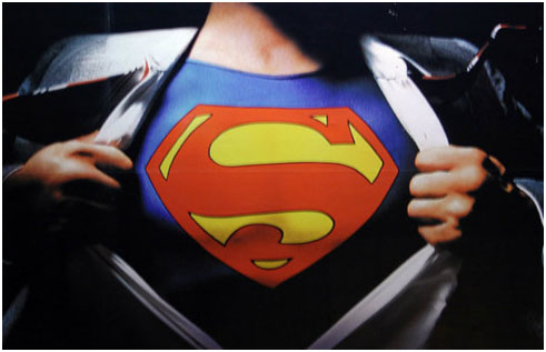 Speaking of superheroes, who is the first superhero coming out of your mind? Of course Superman!
